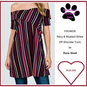 FRUMOS Off Shoulder Tunic